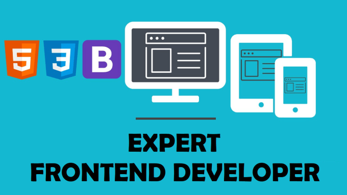 Be Your Expert Frontend Web Designer And Developer By Waseemakkram