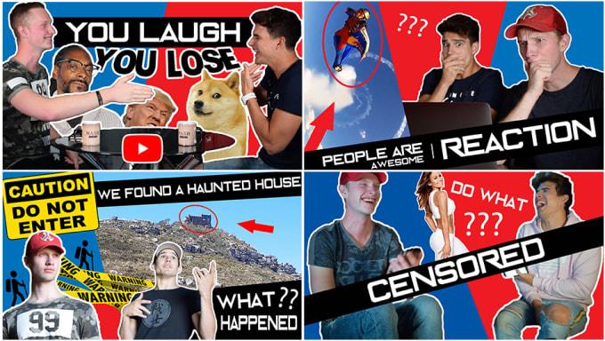 Create youtube clickbait thumbnails by Julian_hurley | Fiverr