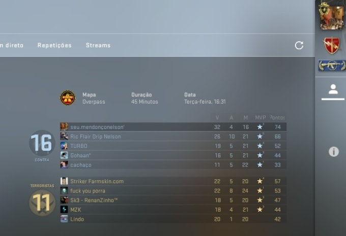 Play Csgo With You And Teach You And Up Your Skill Level By Amadojoao