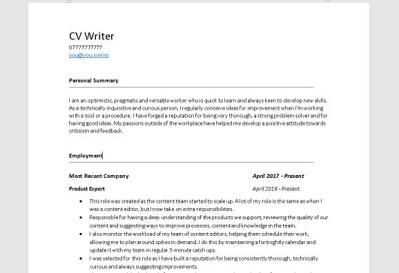 Review And Edit Your Cover Letter Cv And Resume By High Quality Cv Fiverr