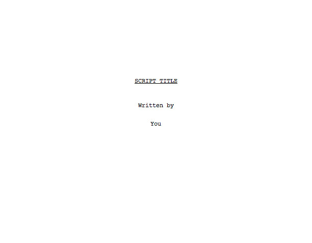 give you line by line notes on your one hour script