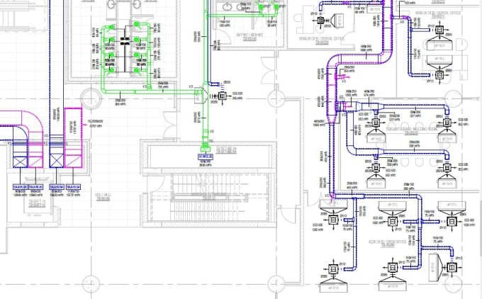 Develop hvac fire fighting and plumbing drawings and calculations by  Caner_c | Fiverr | Hvac Drawings Pictures |  | Fiverr