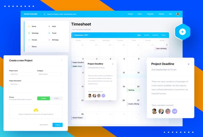 Do Premium Dashboard Web App Ui Design By Appsuiuxdigital