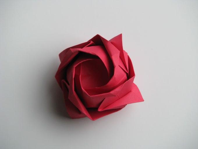 DIY : Origami Flowers Step by Step Tutorials • K4 Craft   510x680