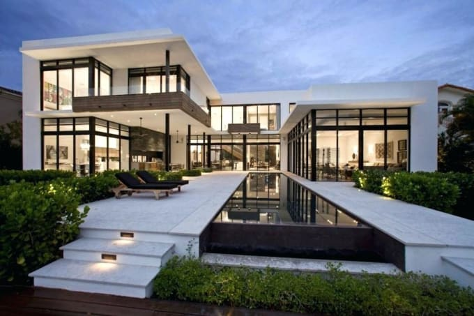 House Architecture Modern Small Minec By Marwaabdelmonem