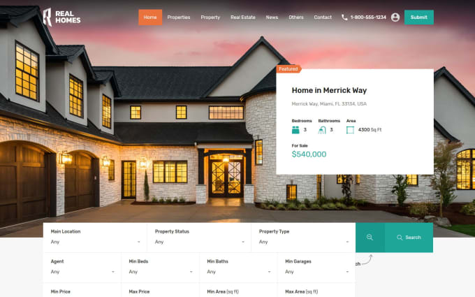 Custom IDX & VOW - Custom Real Estate Brokerage Platforms - TRIBUS