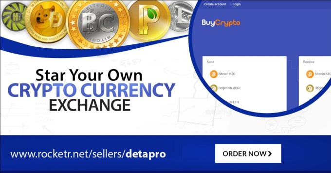 how to create own cryptocurrency exchange