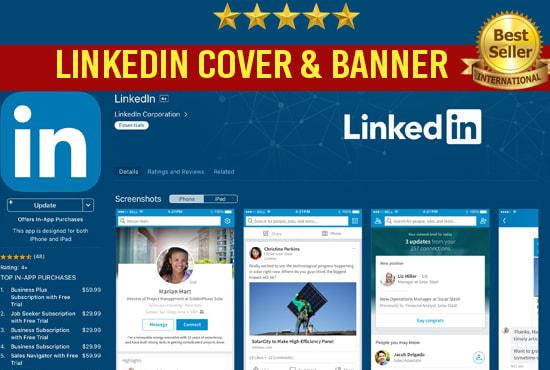 Design Stunning Linkedin Banner Header Or Background Cover By Misons