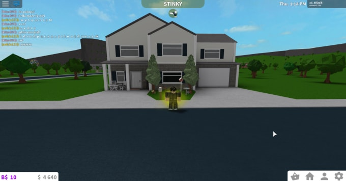 Build You A House In Bloxburg Roblox By Fortnitenuoogit