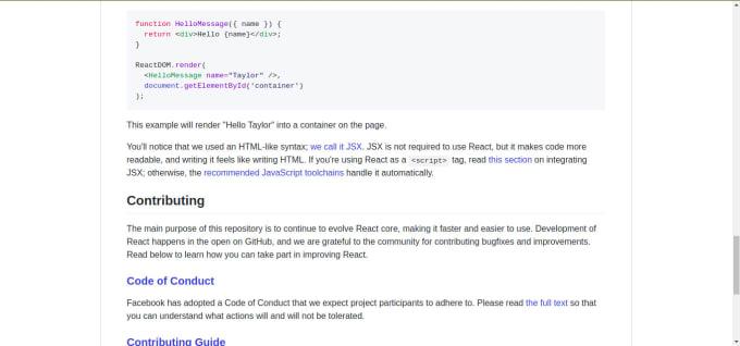 Example Github Readme
