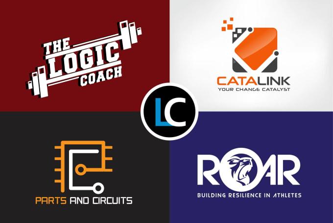 design 2 modern minimalist logo designs in 24hrs