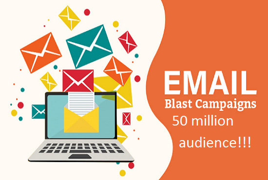 drive and blast 40million bulk emails, email blast and email marketing campaign