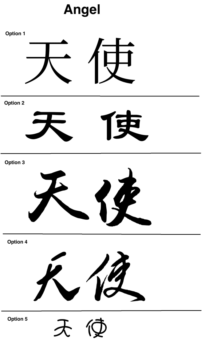Translate And Design A Tattoo With Chinese Characters By Globeadventurer