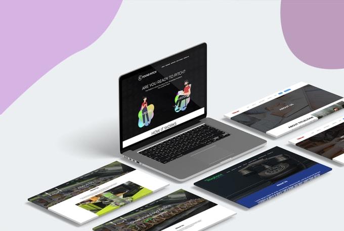 Design Website Mockup Psd Website Template By Bmwdesigns
