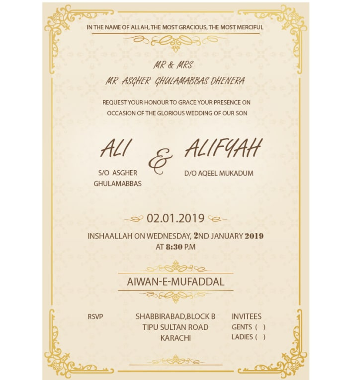 design wedding invitation cardsmansooriqbal622