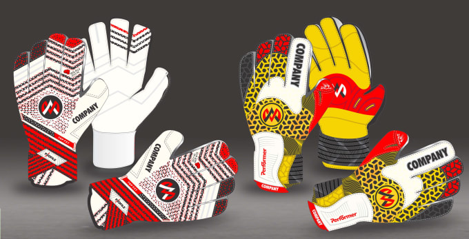 Design Professional Goalkeeper Glove For You By Abbas8085