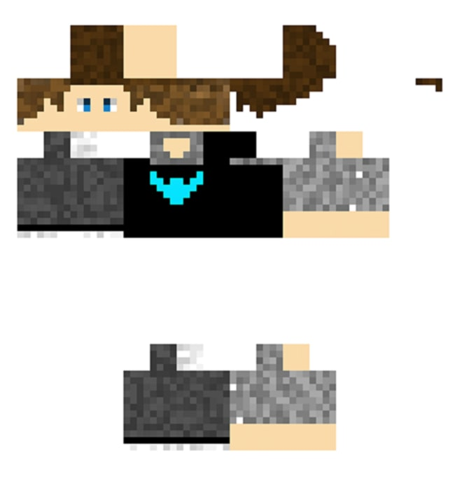 Make You A Professional Minecraft Skin By Benleeart