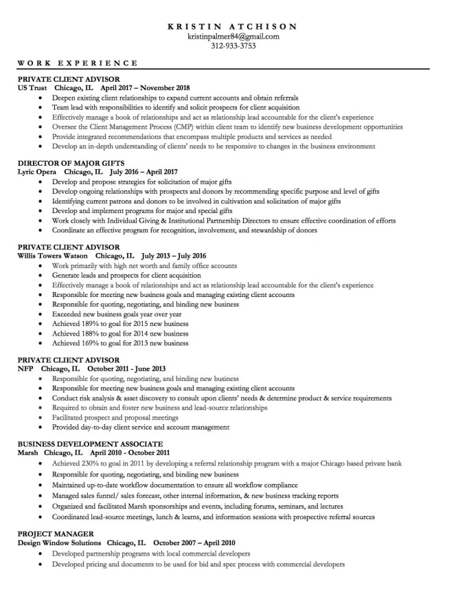 Write Or Update Your Resume Cv And Linkedin Profile By