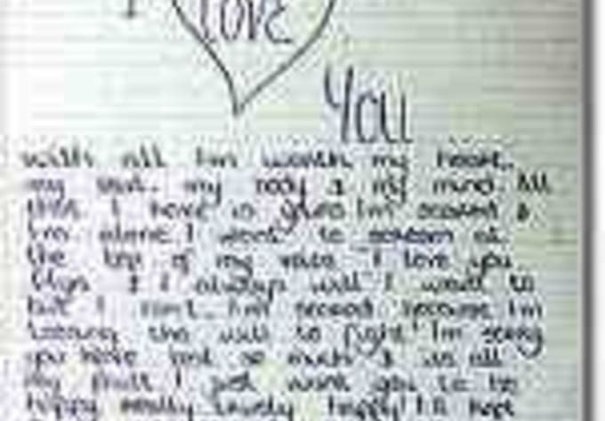 A letter to my girlfriend