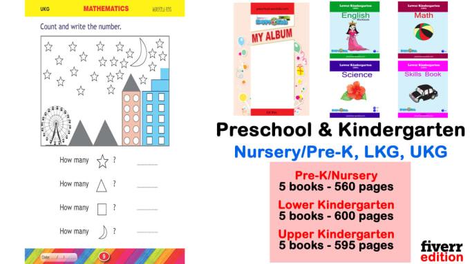 Preschool Worksheets And Kindergarten Worksheets By Prilthapa Fiverr