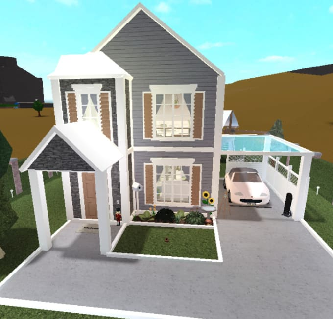 Build Your House In Bloxburg By Simplixee