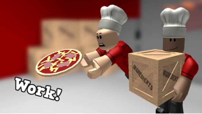 Roblox Music Videos Pizza Place Work For You In Roblox Bloxburg By Fiestyfina