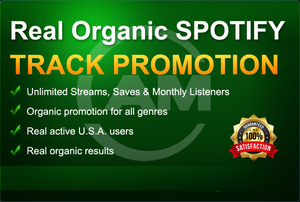 do organic promotion for spotify