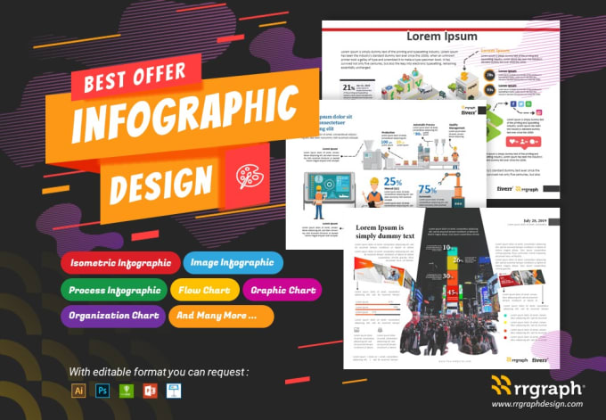 Design Engaging And Meaningful Infographic By Rrgraph