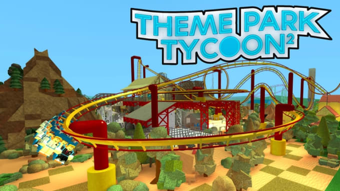 Build You A Professional Looking Park In Theme Park Tycoon 2 By
