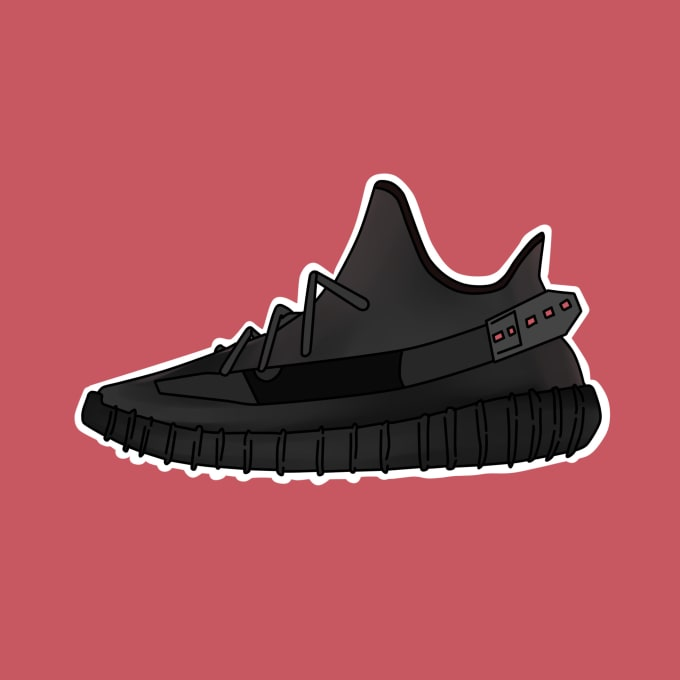 Draw your favourite sneaker very cheap
