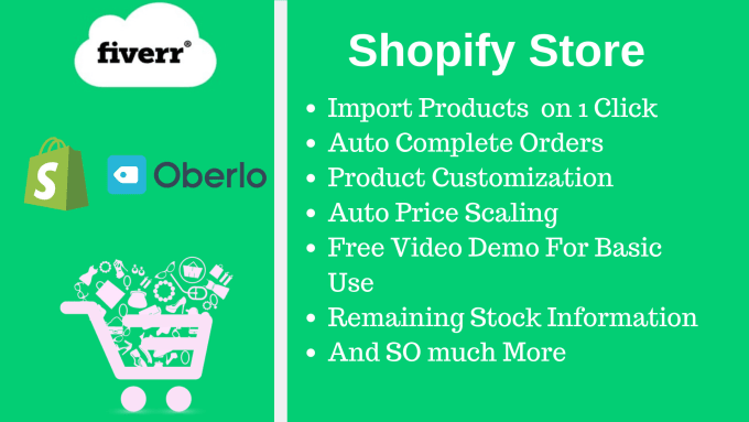 Create Fully Automated Shopify Store By Web Dean
