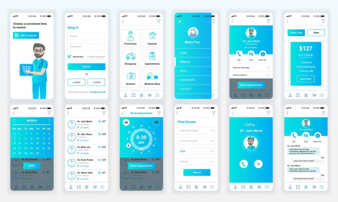 Design Interactive Prototype For Mobile Web App By Aniqa Ejaz