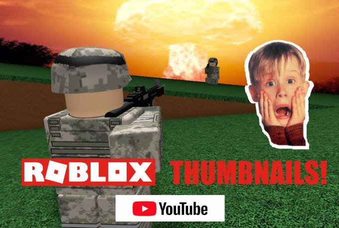 Make A Roblox Youtube Thumbnail By Dukeshypanda