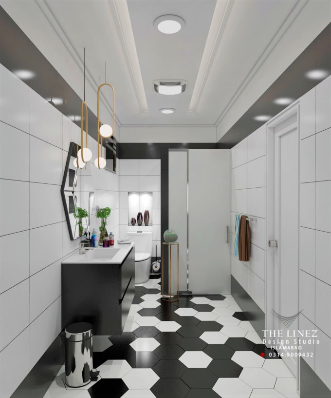Design Bathroom Washroom With Realistic 3d Pro Work By Zeshan0806