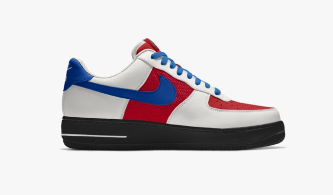 Design your nike air force 1 low by