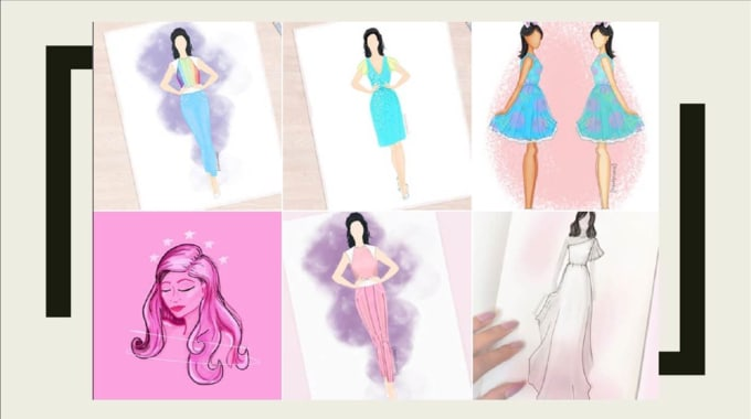 Sell A Fashion Illustration Of Your Choice 24 Hours High Res By Abriel Fashion