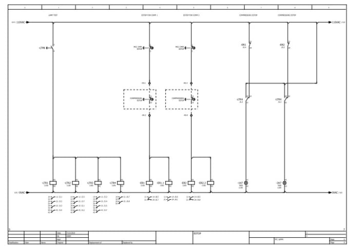 Draw electrical schematic diagrams using eplan by Yas_89Fiverr