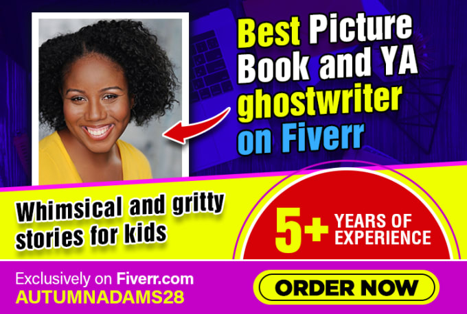 ghostwrite your picture book or ya novel