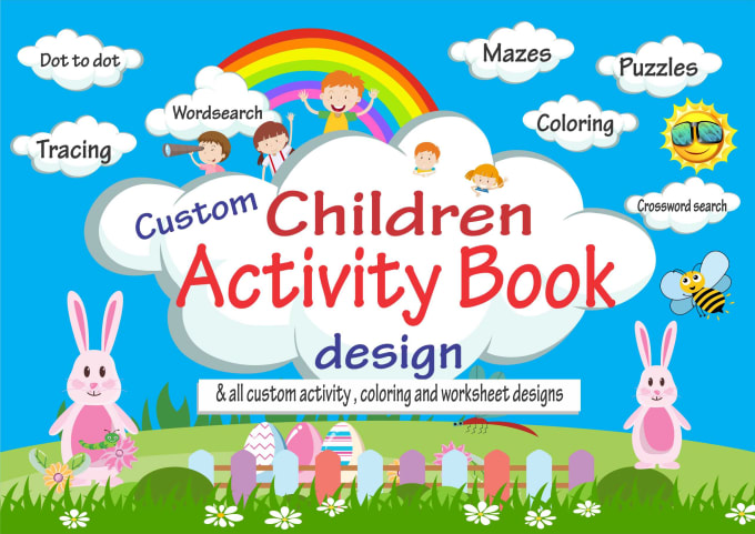 - Design Children Activity Book And Coloring Pages For Amazon Kdp By  Graphicexpert30