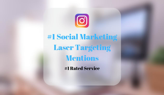 Mention laser targeted users in your instagram post by Prestigesocial |  Fiverr