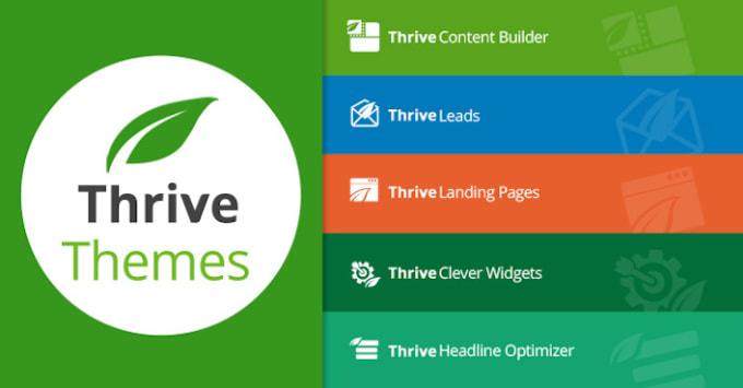 Work on thrive theme builder, architect, apprentice by Hetarthdesai