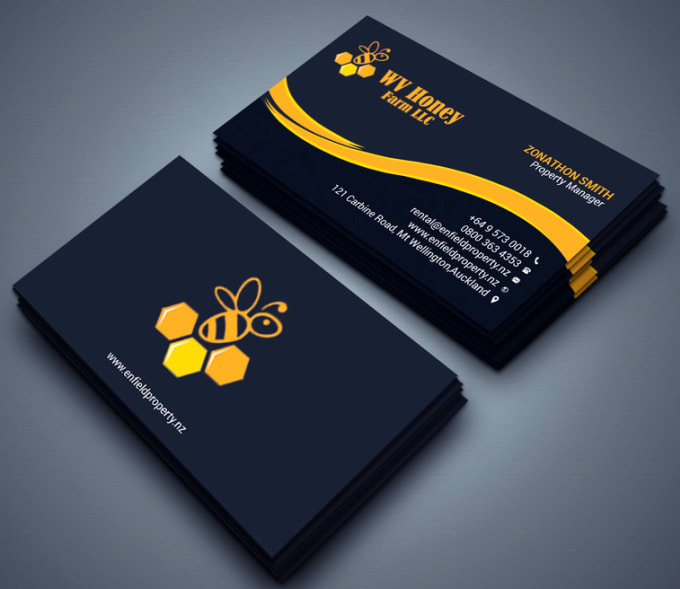 create modern professional business card designs for you