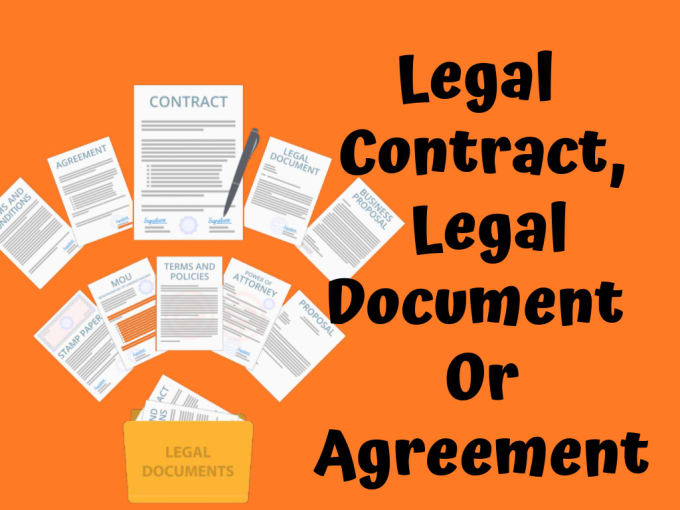 Write legal contract, legal document, legal agreement, contracts ...