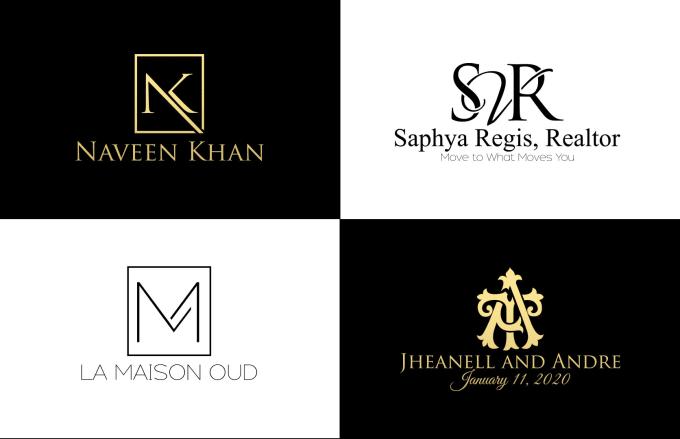 Design Professional Monogram Logo By Nalin Art