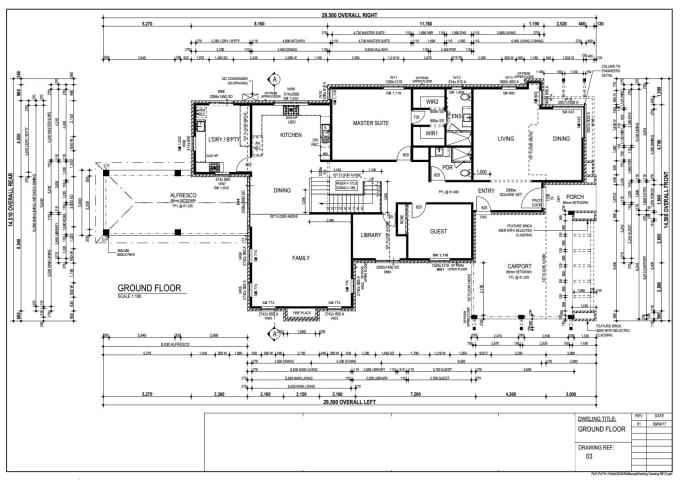 Design Custom Floor Plans For Your Australian House By Haseeb Dbd Fiverr