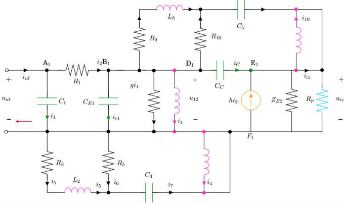 Draw your electrical circuit using tikz in latex by Khalil_77 | FiverrFiverr