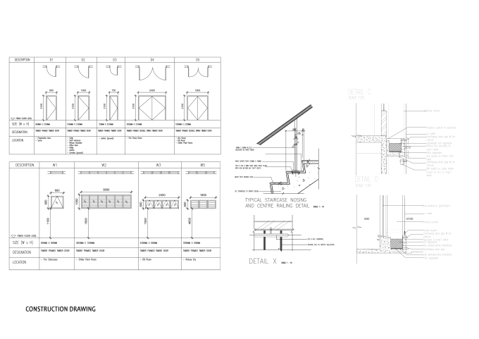 Draft technical drawing such as floor plan elevation ...
