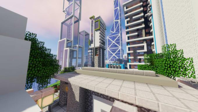 minecraft skyscraper with floor plans