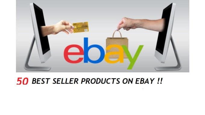 Send You 50 Best Seller Products On Ebay By Crealove25