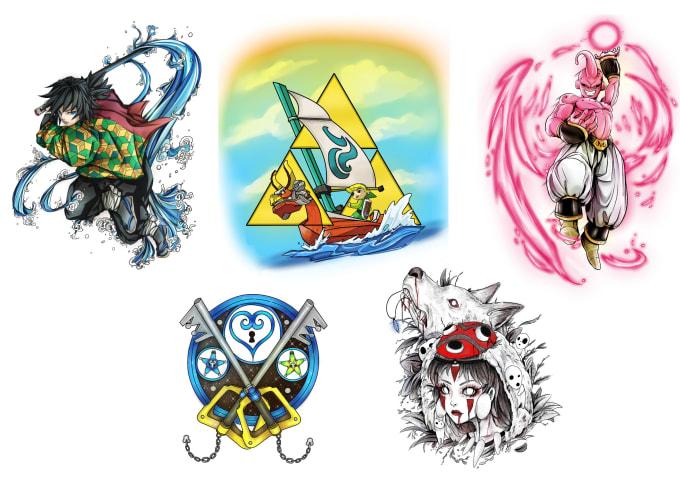 Design You A Stylised Tattoo Games Anime Geek By Bearzaar 4anime.su taboo tattoo opening cover (rus) fretta. design you a stylised tattoo games anime geek